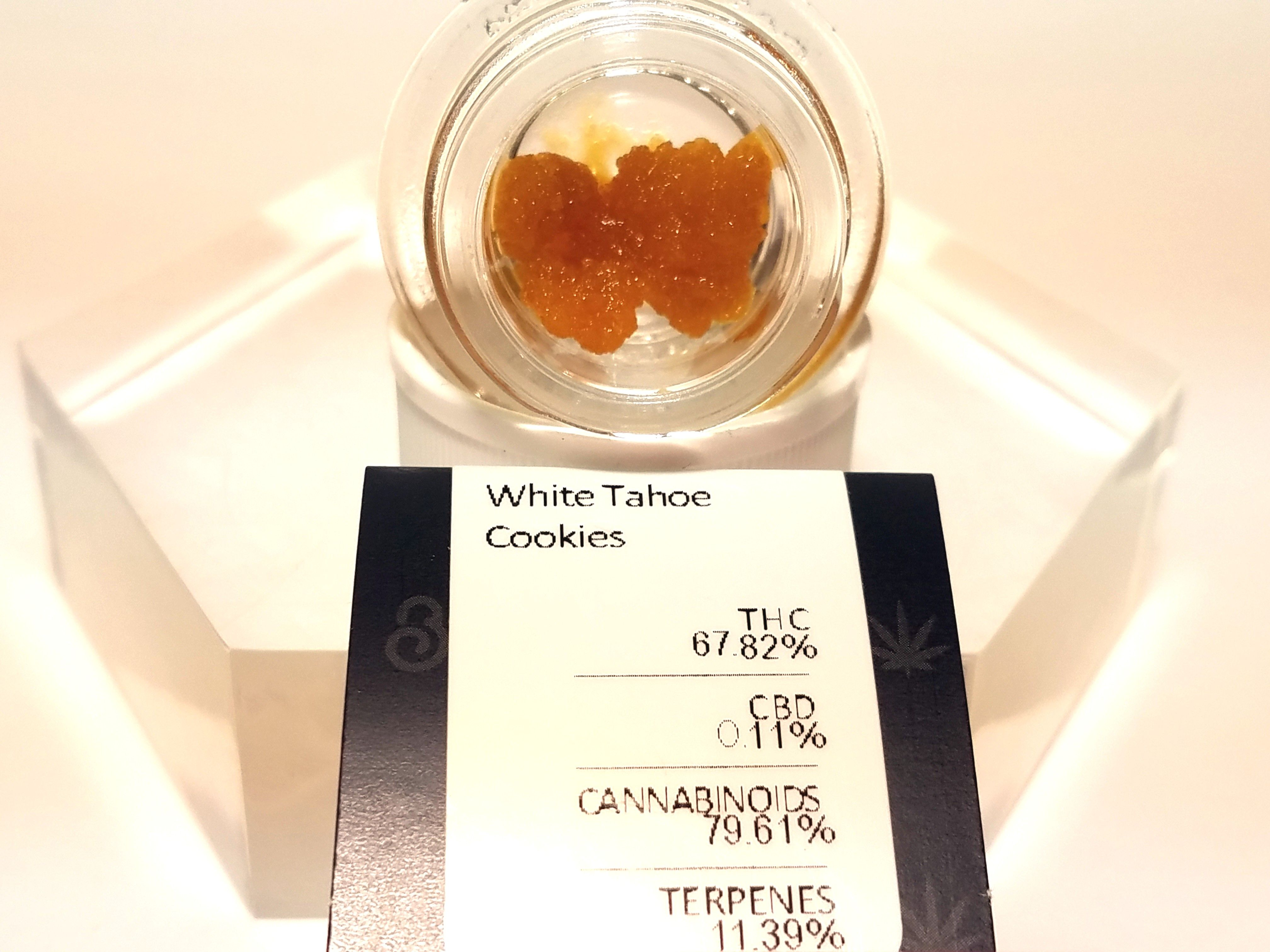 Bobsled - White Tahoe Cookies, Indica, Live Resin
