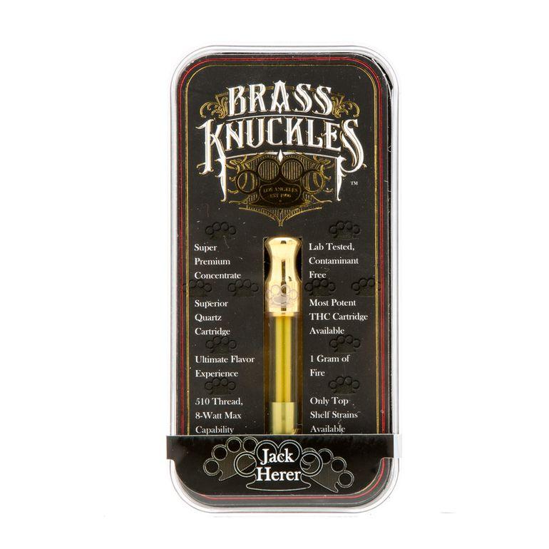 Brass Knuckles Jack Herer Cartridge Sativa