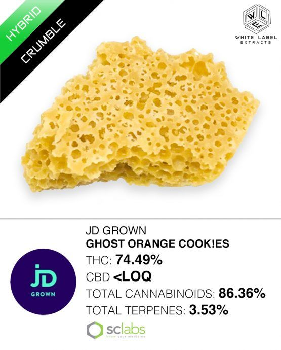 WLE - Ghost Orange Cookies, Hybrid, Honeycomb