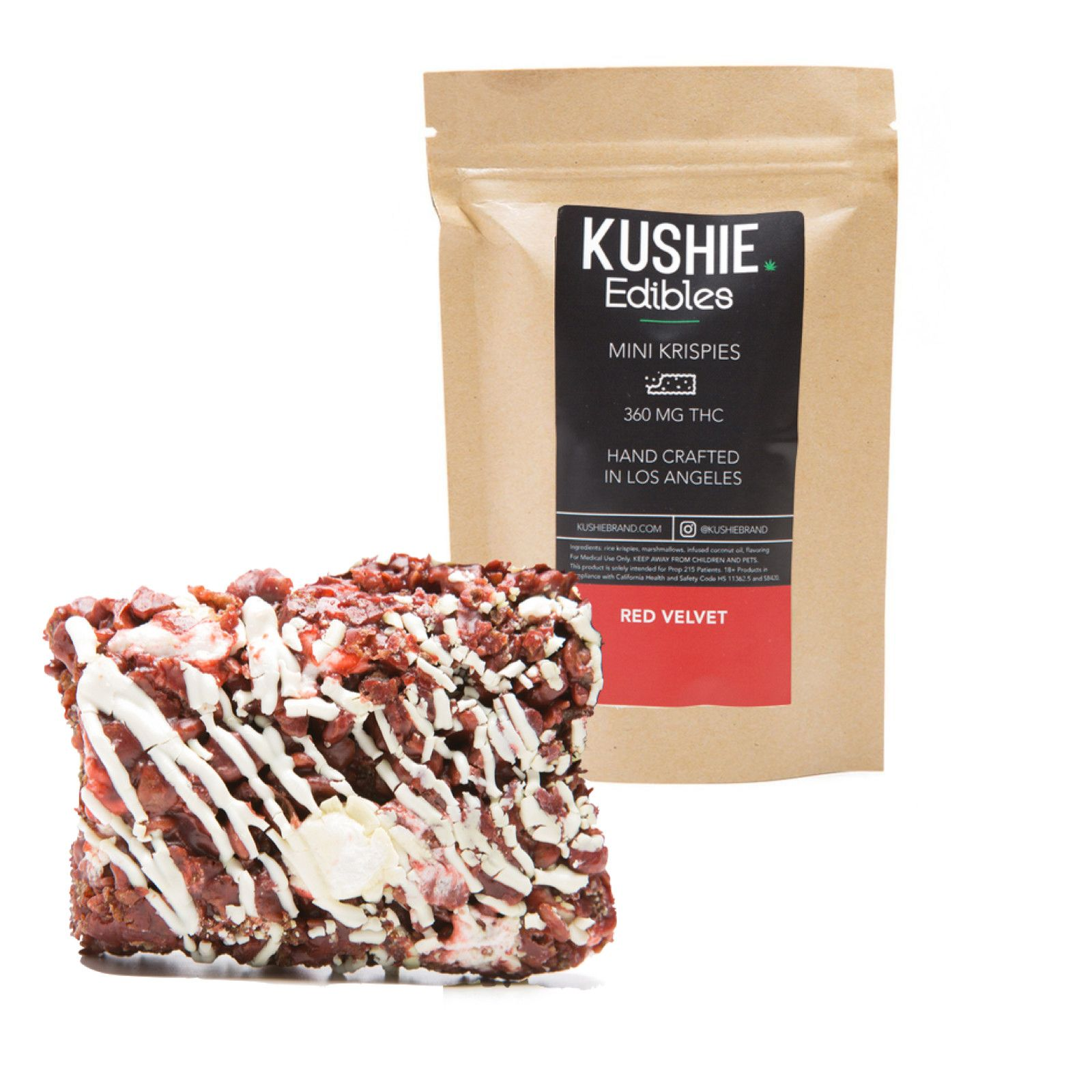 [KUSHIE] Red Velvet Mini Krispie 320mg