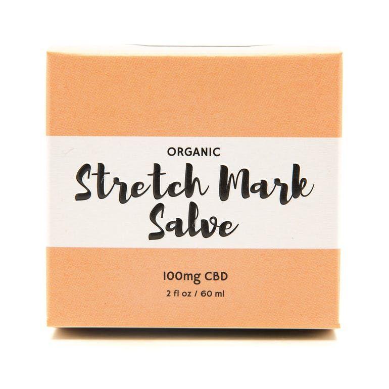 Organic Stretch Mark Salve 100mg CBD