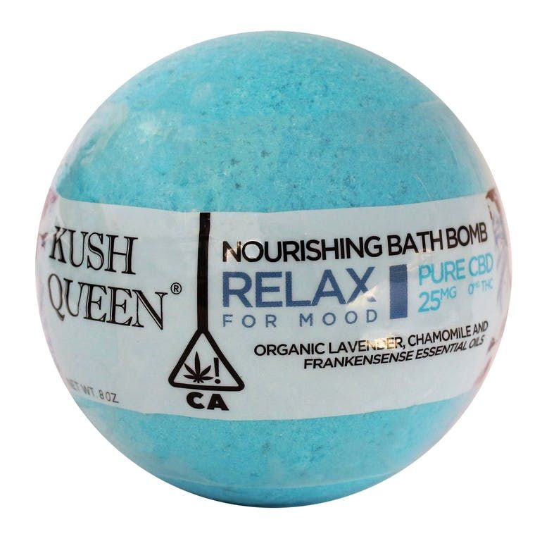 Relax Bath Bomb Pure CBD 25mg