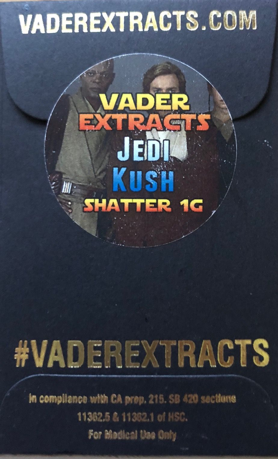 Vader Extracts - Jedi Kush Shatter