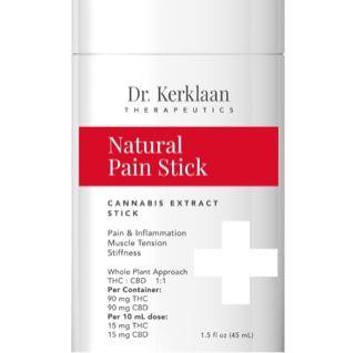 Dr. Kerklaan Natural Pain Stick 180mg $75