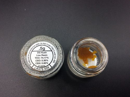 OG Kush Live Resin by Guild Extracts .5g
