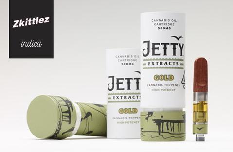 Jetty Gold Cartridge Zskittelz $35