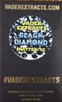 Vader Extracts - Black Diamond OG Shatter
