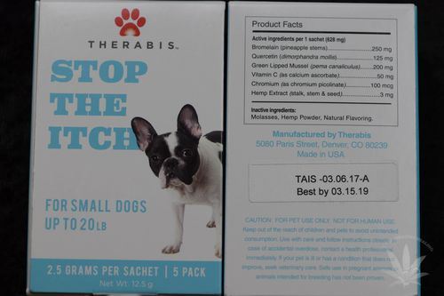 Therabis Stop The Itch Small Dog (5 pack)