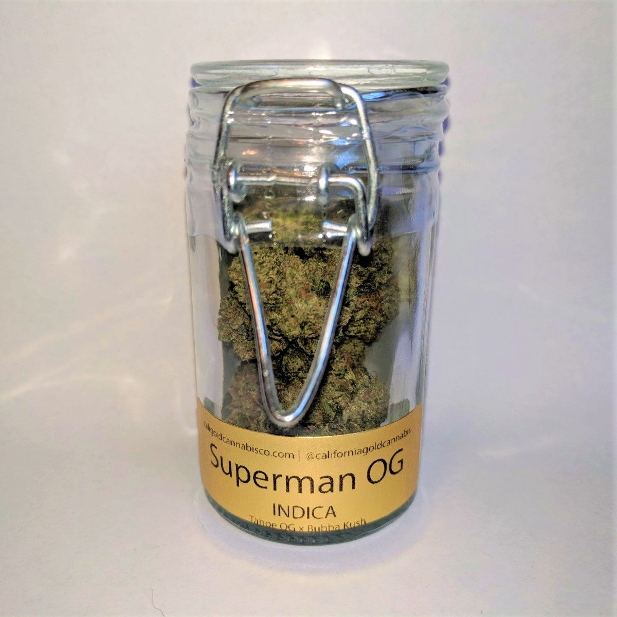 California Gold Cannabis Co. Superman OG