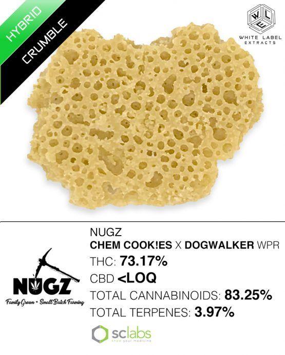 WLE - Chem Cookies x Dogwalker, Hybrid, Honeycomb