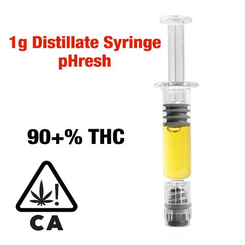 Top Five Thc Distillate Syringe - Circus