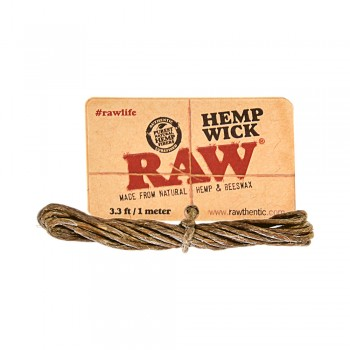 Raw Hemp Wick 3.3m