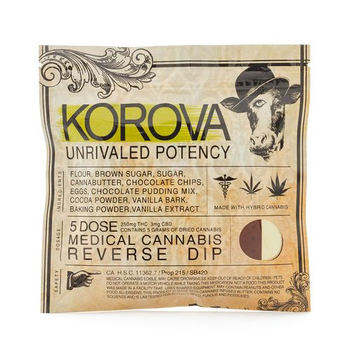 Korova Reverse Dip Cookie, 250mg