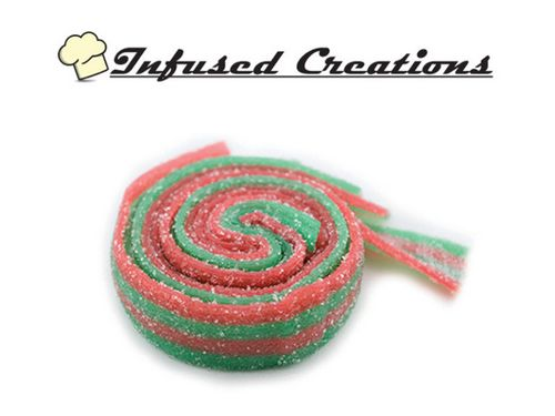 Infused Creations - Strawberry Apple Sour Belts (Indica) 300mg
