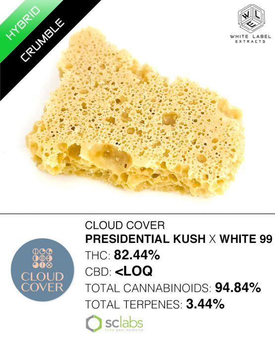WLE - Pres Kush x White 99, Hybrid, Honeycomb