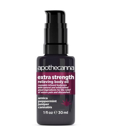 Extra Strength Relieving Body Oil 1oz
