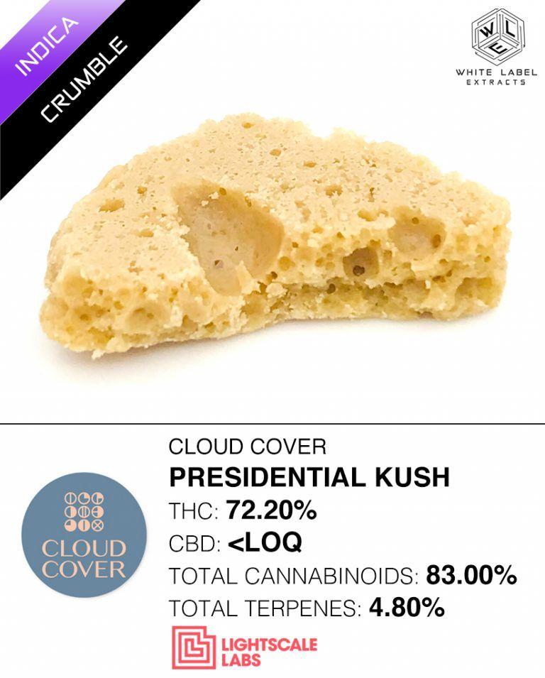 WLE - Presidential Kush, Indica, Honeycomb