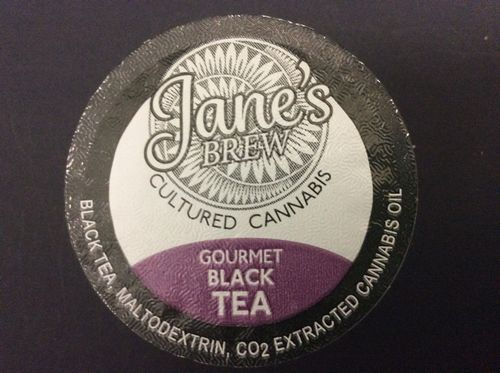 Jane's Brew Gourmet Black Tea K-Cup by House of Jane (80mg THC)