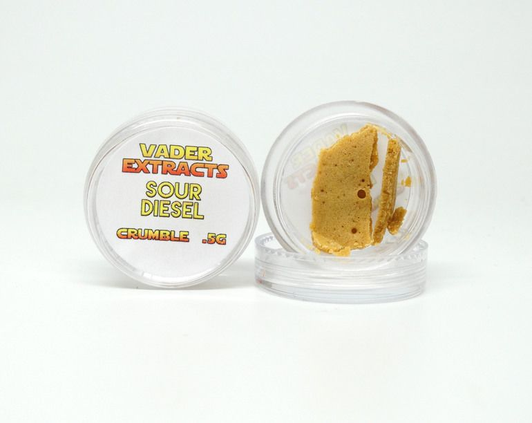 Vader Extracts Grand Daddy Purple [Trim Run]