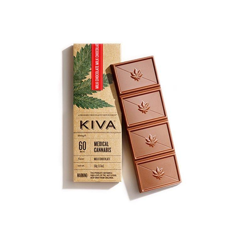 Kiva - Milk Chocolate Bar - 60mg