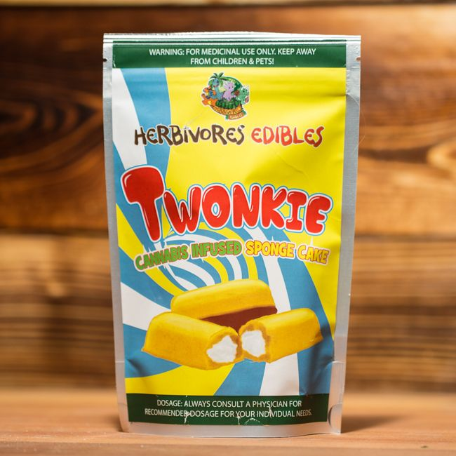 Herbivore Edibles Twonkie Sponge Cake