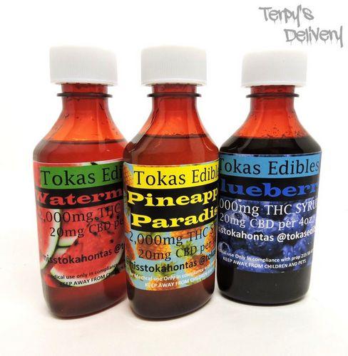 THC Syrup - Tokas Edibles