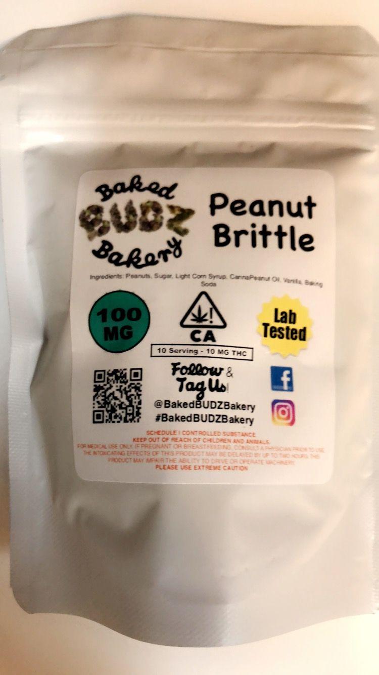 Peanut Brittle (Baked Budz Bakery)