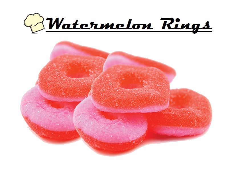 Infused Creations - Watermelon Rings (Indica) 300mg