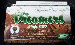 CBD 1:1 Ratio Day Dreamer Chocolate 90mg:90CBD