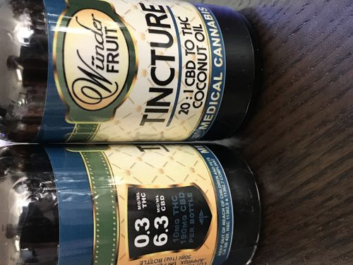 WunderFruit CBD 200mg 20:1 CBD to THC