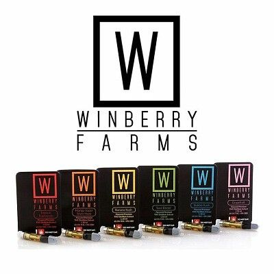 Winberry Farms - Bubba Kush, Indica, Cold Pressed CO2 Cart