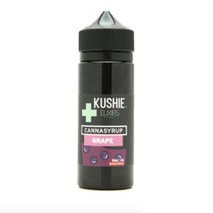 Kushie Grape Elixir 4 oz bottle