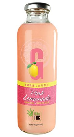 GFarmaLabs Cannabis Infused Pink Lemonade 100mg