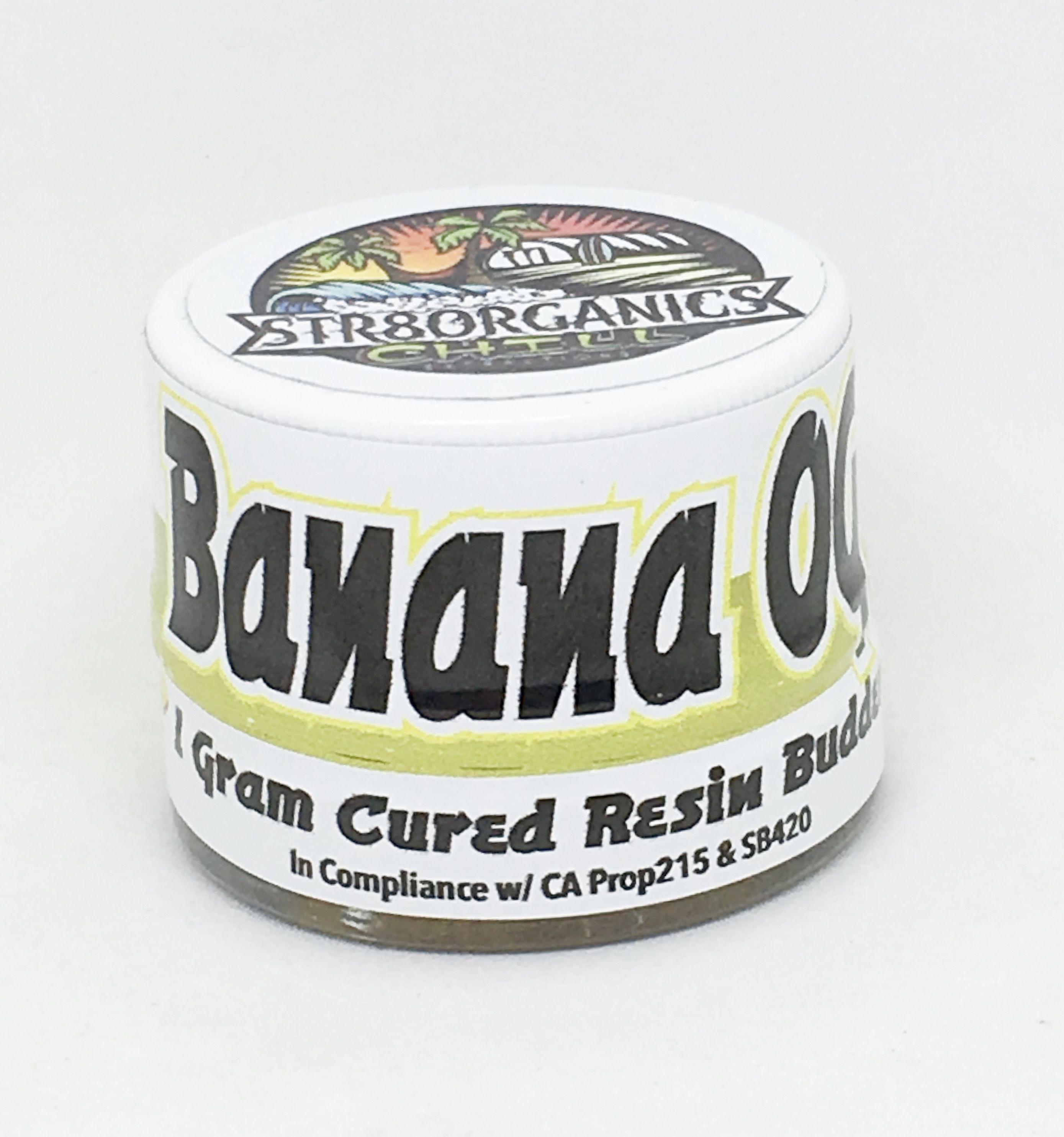 Banana OG Cured Resin Budder- STR8ORGANICS