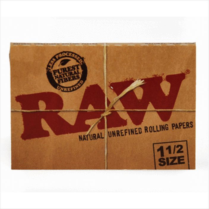 "Raw 1 1/2"" Rolling Papers $2"