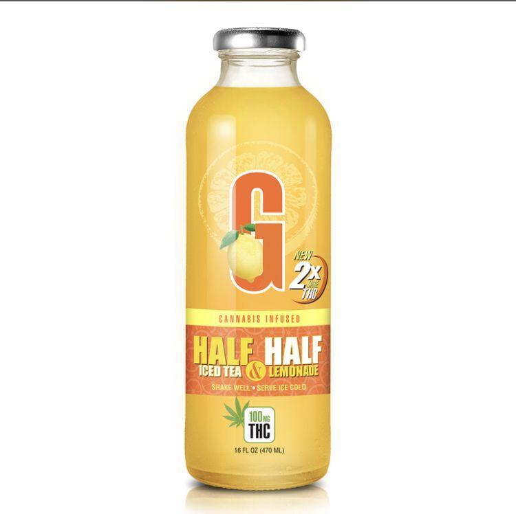 GFarmaLabs Cannabis Infused Half&Half Lemonade 210mg
