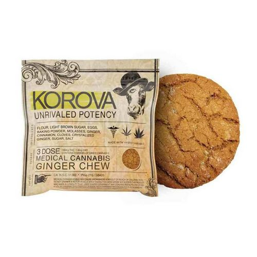 Korova Ginger Chew, 150mg