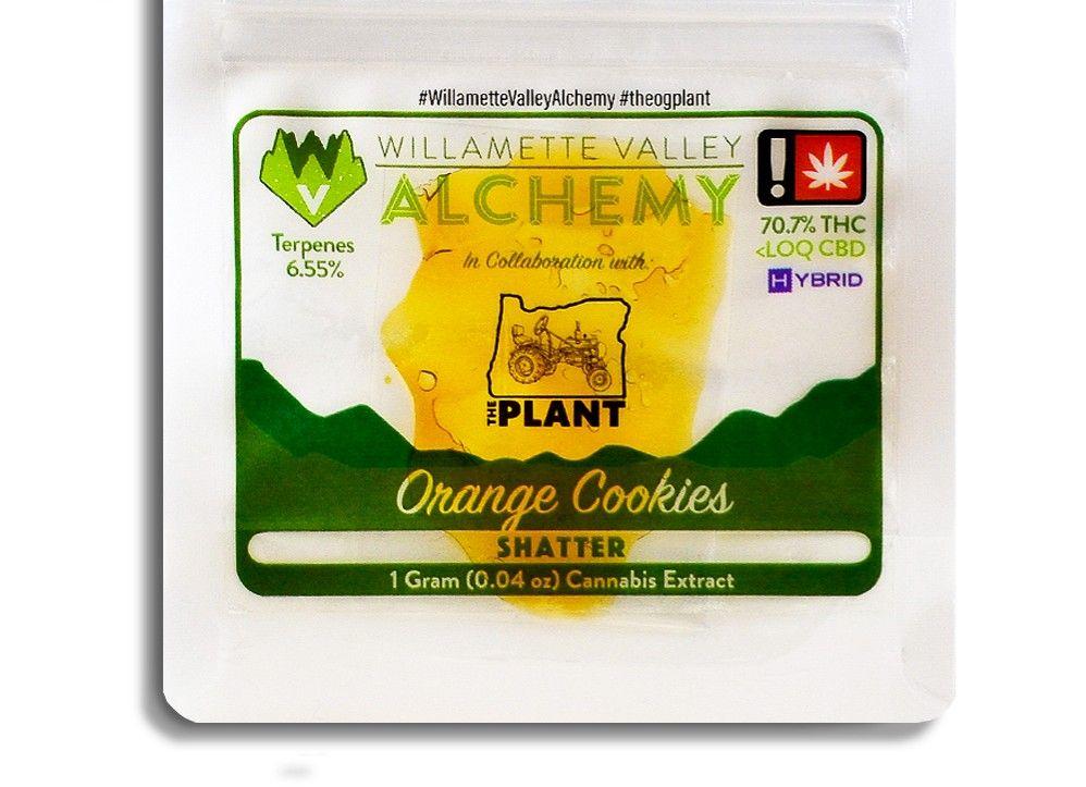WVA - Orange Cookies, Hybrid, Shatter