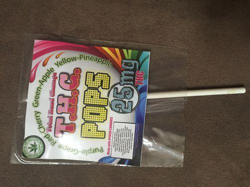 Total Head Change Lollipops 25mg