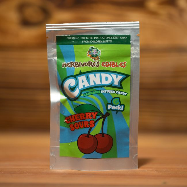 Herbivore Edibles Cherry Sours