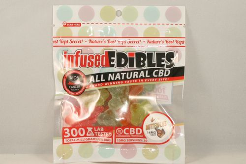 CBD Gummie Butterflies - 300mg - Infused Edibles