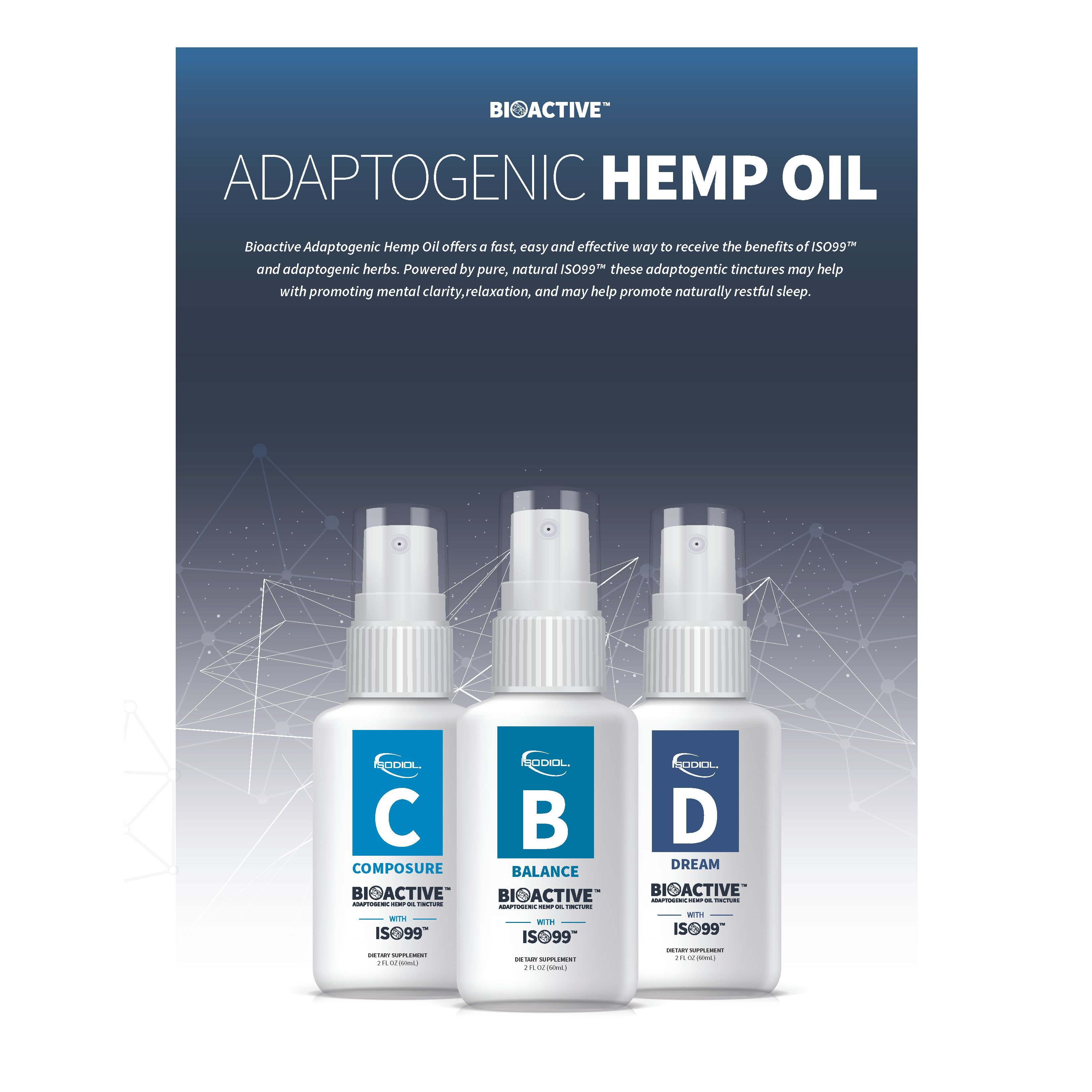 Bioactive Hemp Oil Tincture