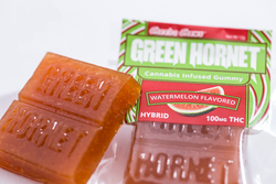 Green Hornet 100mg Watermelon Gummy