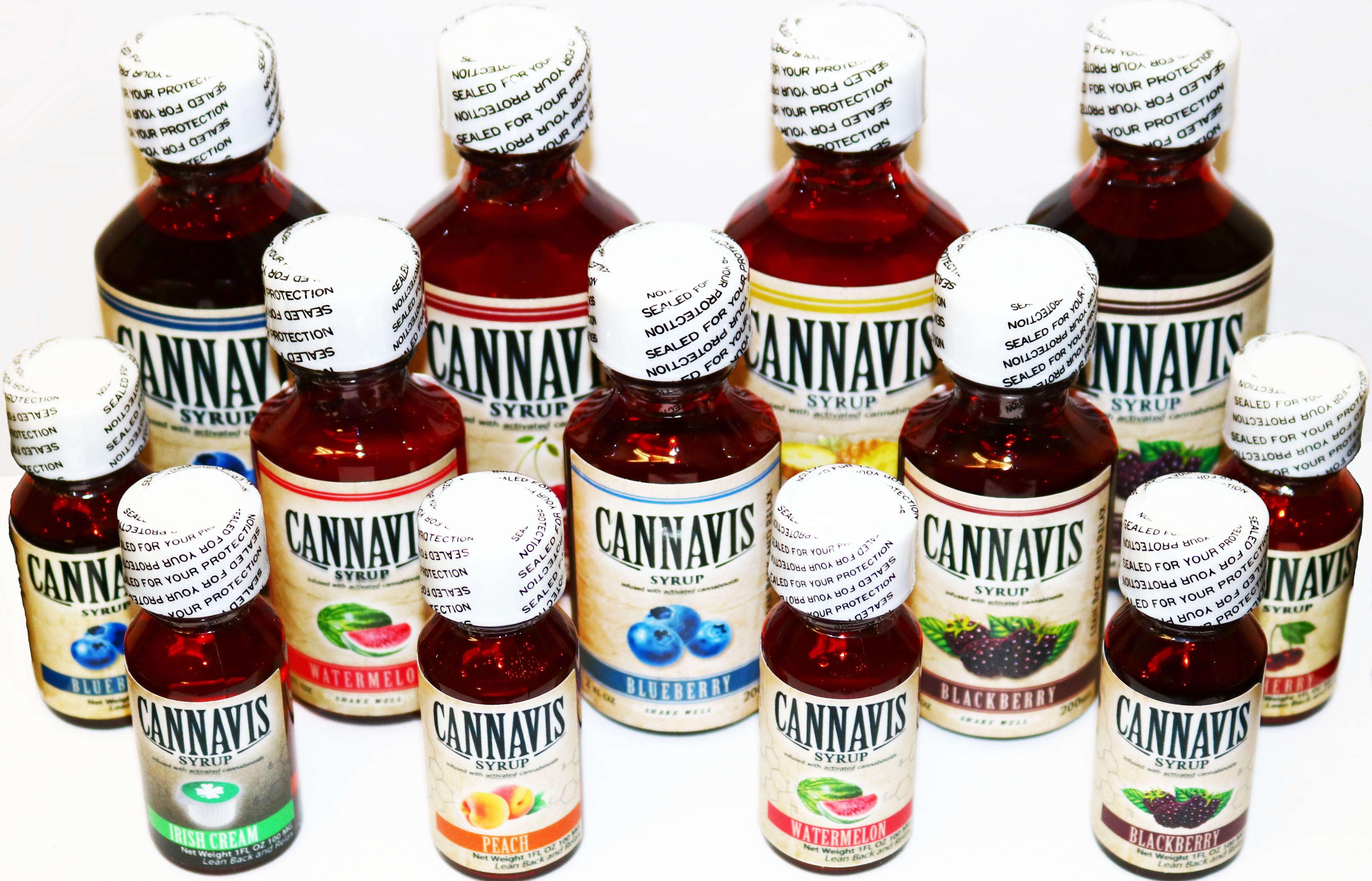 Cannavis Syrup - CBD 100mg