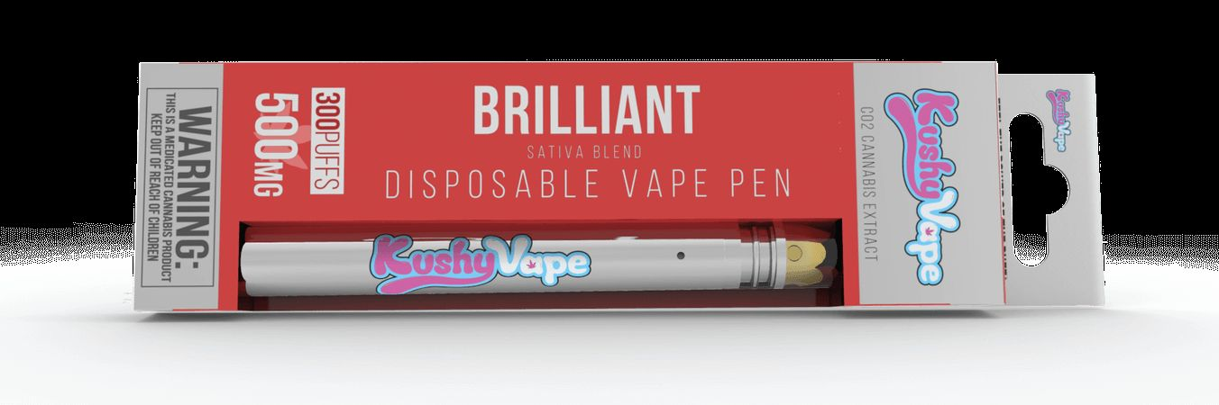 Kushy Punch .5g Disposable Vape Candy Apple - Sativa