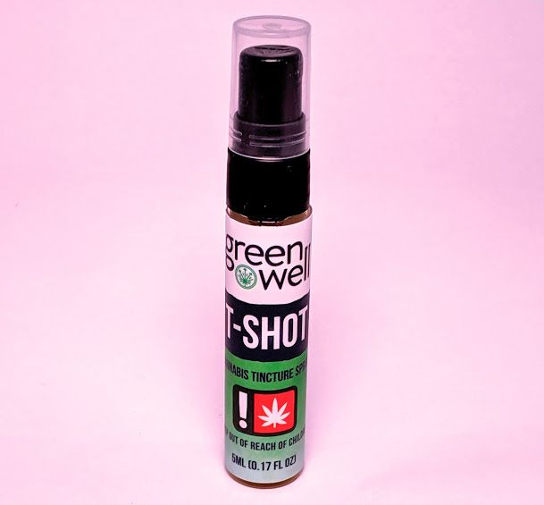 Green Dragon - THC-Shot Tincture