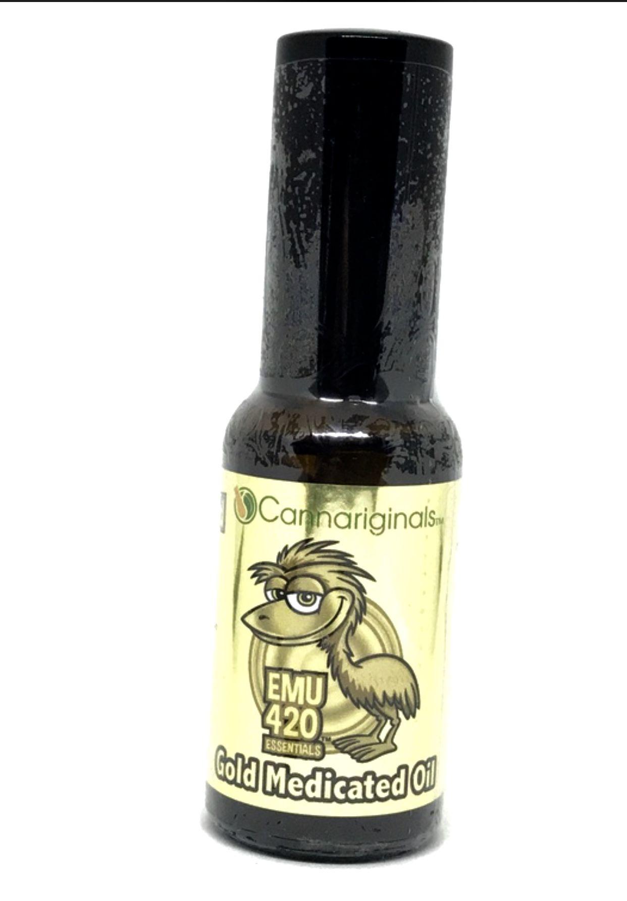 Emu 420 Gold Medicated Oil, 50mg