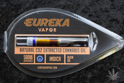 Eureka Vapor Cartridge 500 MG - Alien OG (indica)