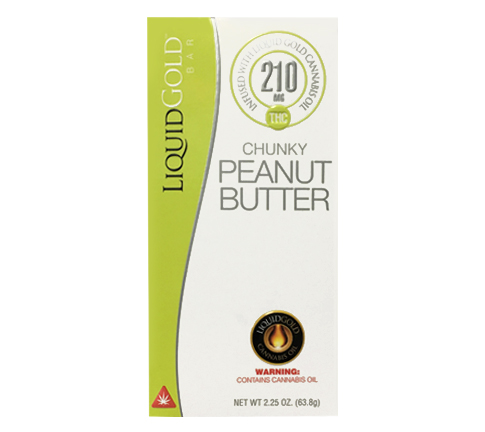 Liquid gold 210MG chunky Peanut Butter