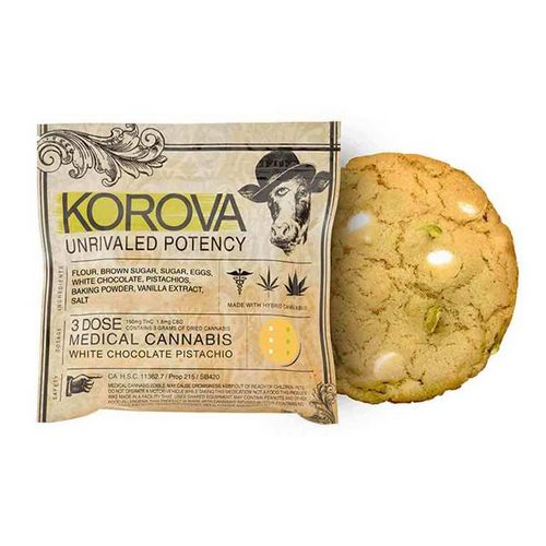 Korova White Chocolate Pistachio, 150mg